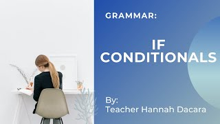 How to learn English with IF CONDITIONALS