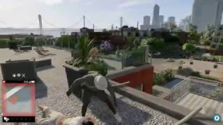 WATCH DOGS 2 PARKOUR MONTAGE - TRICKS & STUNTS LEADS TO A DEATH!!! *NEW*