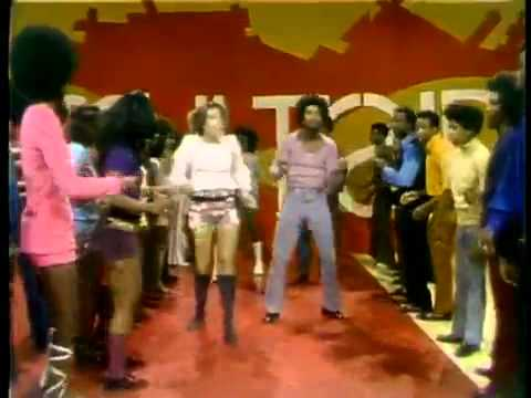 Soul Train Line Dance to Aretha Franklin  Rock Steady