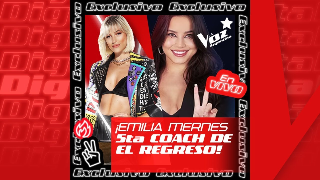 ¡Stefi Roitman le da la bienvenida a Emilia Mernes en #ElRegreso! - La Voz Argentina