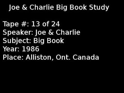 Joe & Charlie Big Book Study 13 Of 24