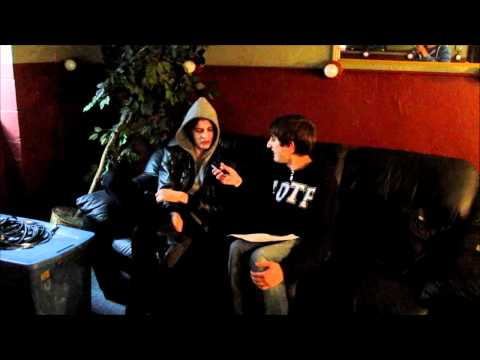 Interview w/  Matt Kean of Bring Me The Horizon at the Game Changers Tour, Worcester, MA, 03-13-2011