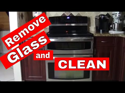 Clean the Glass Inside Your Oven Door -- How to