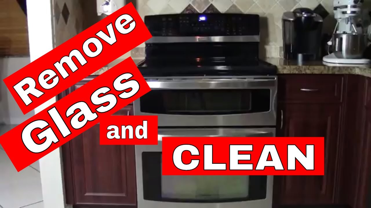 Clean The Glass Inside Your Oven Door How To Youtube