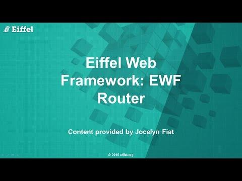 Eiffel Web Framework (EWF) Router