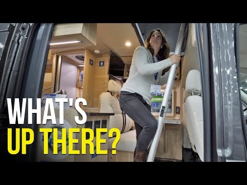 Living BIG in a SMALL Space with Vans & Class C RVs at the RVIA Show