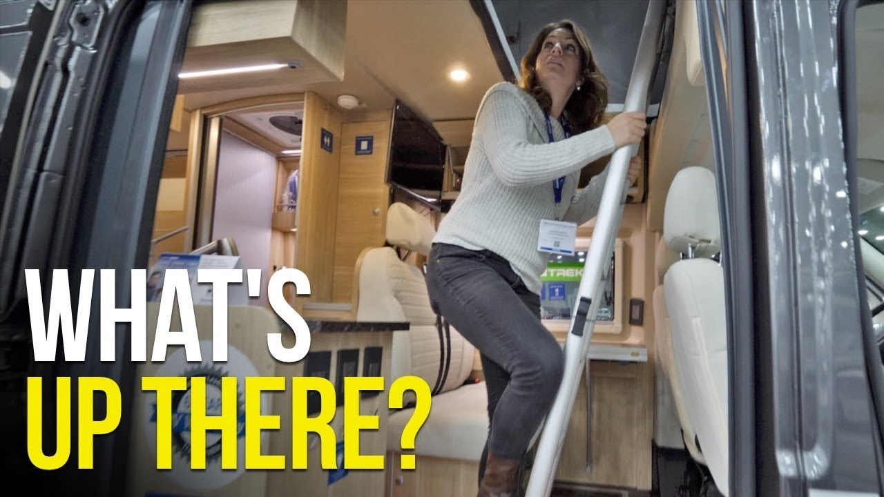 Living BIG in a SMALL Space with Vans Class C RVs at the RVIA Show