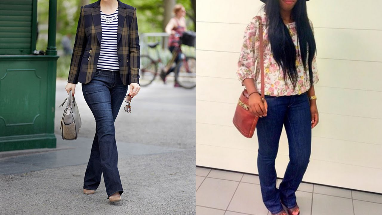 Womens Bootcut Jeans - 20 Style Tips On How To Wear Bootcut Jeans ...