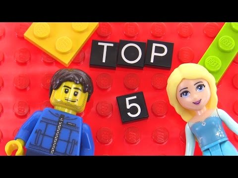 LEGO Top 5 Best-Selling Sets of 2015!