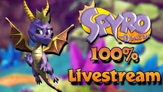 Time to Beat Ripto! - Spyro the Dragon 100% Livestream