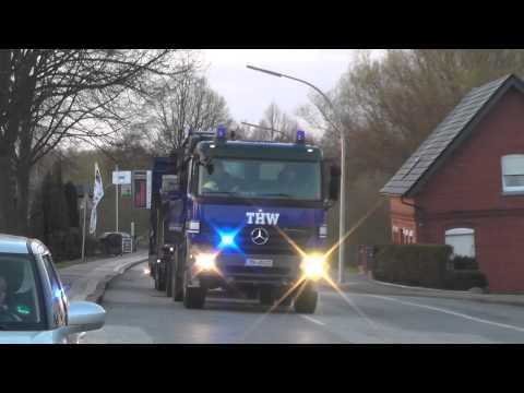 [Großfeuer Neuengamme] THW Hamburg- Nord Fachgruppe Räumen