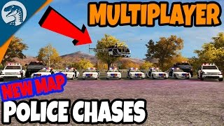 POLICE PATROLS, HIGH SPEED PURSUITS, HELICOPTERS, & ARRESTS   Farming Simulator 2017 Gameplay