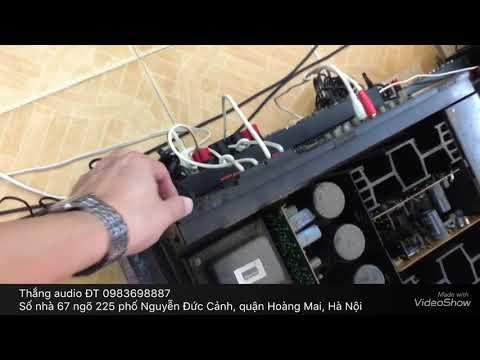 Amply sansui607 2 biến thế nguồn ruột bẩn kinh được cái nguyên bản mời ae tham khảo Thắng Audio