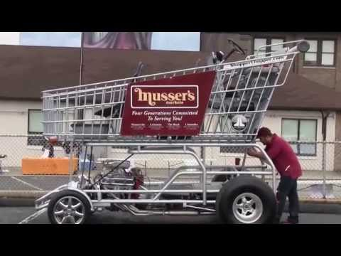 Crazy Hot Rod: Giant Shopping Cart!?