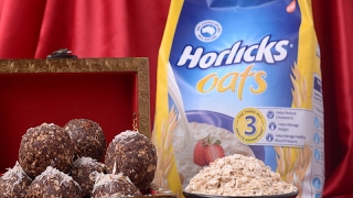Horlicks Oats Choco Laddu
