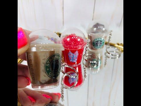 Mini Coffee Cup keychains