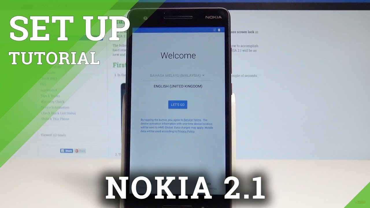 How to Set Up NOKIA 2 1 - Activation / Configuration / Initialization  Process