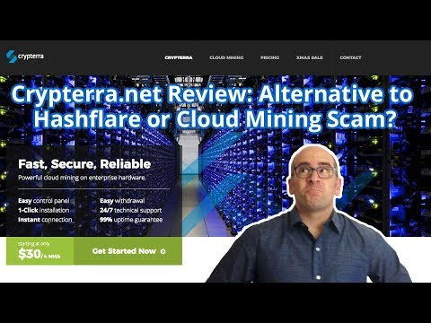 Crypterra.net Review: Alternative to Hashflare or Cloud Mining Scam?