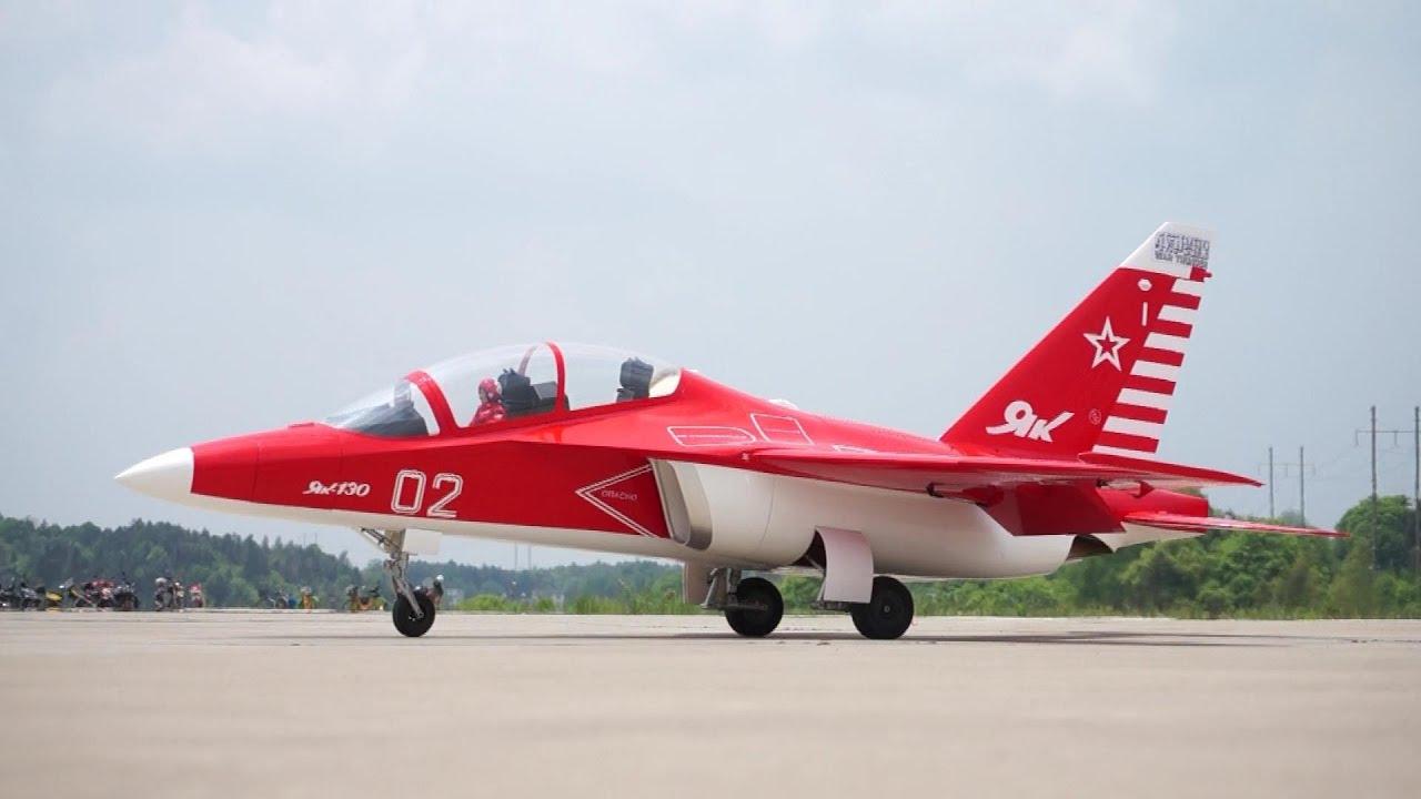RC Jet Yak 130 Gas Turbine Jet Amazing Flight and Low Passes