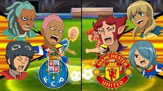 Inazuma Eleven UCL ~ Porto vs Manchester United ※Pokemon Anchor※