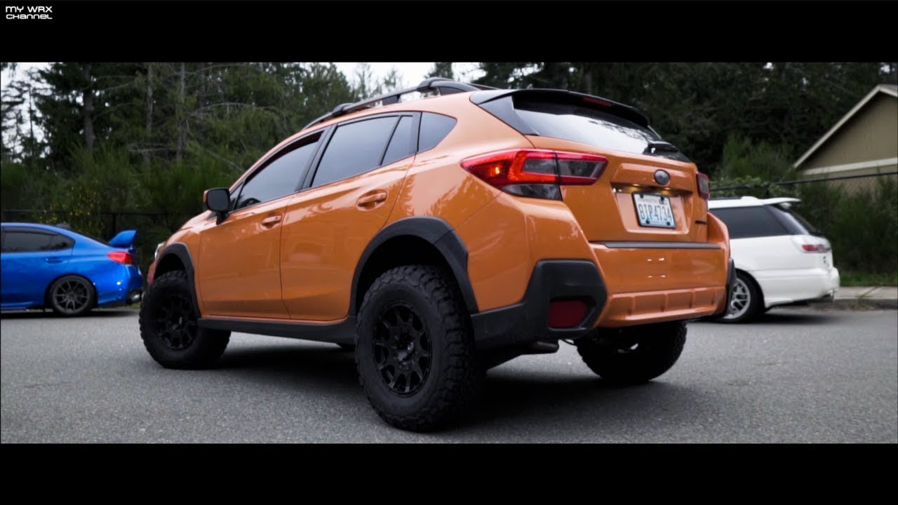 2018 subaru crosstrek 1 5 lift kit by adf youtube. Black Bedroom Furniture Sets. Home Design Ideas