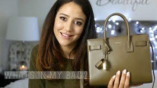 Whats In My Bag? | Saint Laurent Baby Sac De Jour
