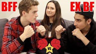 BEST FRIEND VS. EX BOYFRIEND - Who Knows Me Better Challenge!