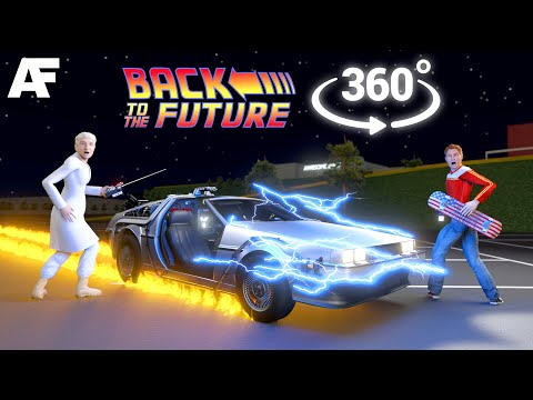 Back To The Future [360° Video] || 4 Minutes As Marty McFly