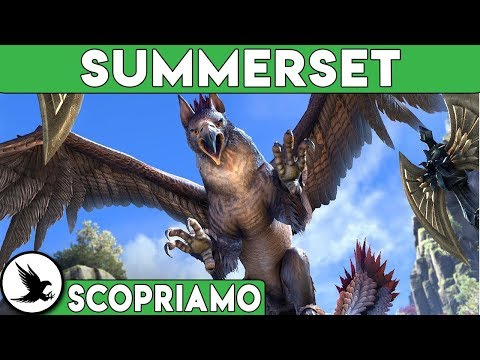 THE ELDER SCROLLS ONLINE SUMMERSET Gameplay ITA [SCOPRIAMO]