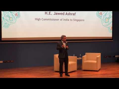 High Commissioner delivering welcome address at Indian Film Festival, 15 March 2018