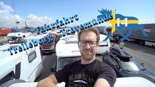 Wohnmobil-Schweden-Rundreise#14: Kostenlose Übernachtung in Trelleborg & Fährfahrt nach Travemünde