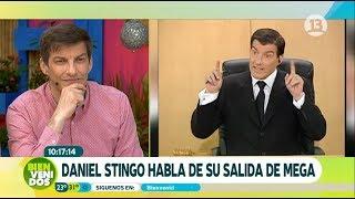 Recordamos paso de Daniel Stingo por Canal 13   Bienvenidos
