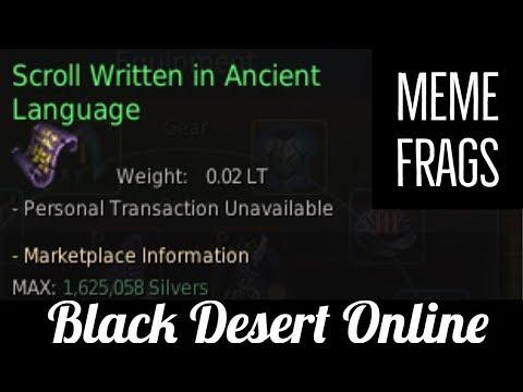Black Desert Online [BDO] How I Get Memory Fragments