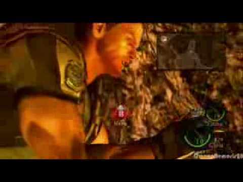 Resident Evil 5 Chris Redfield On Steroids Youtube