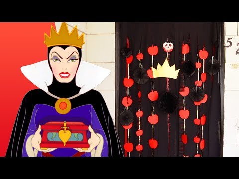 Evil Queen Halloween Door Decor | Disney Family