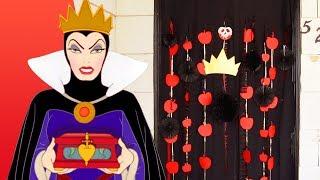 Evil Queen Halloween Door Decor | Disney Family