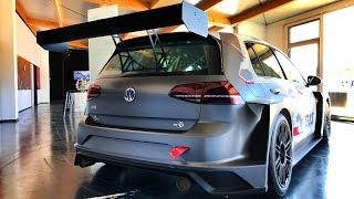 Тест всех версий обновленного VW GOLF - GTE, GTI, R & e-GOLF + болиды DTM и GUMPERT 920 сил! Майорка