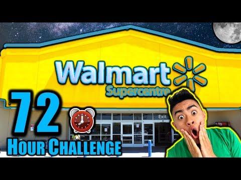 72 HOUR OVERNIGHT CHALLENGE IN WALMART PART 2 (Dare Or Dare!)