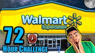 72 HOUR OVERNIGHT CHALLENGE IN WALMART PART 2 (Dare or Dare!)
