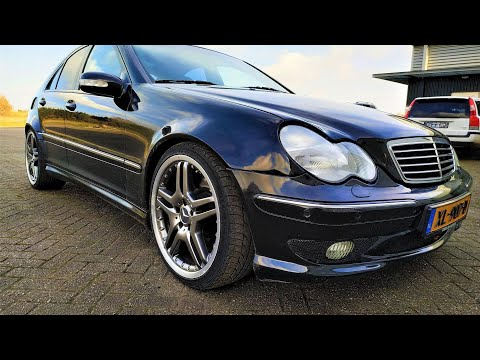 Mercedes C32 AMG widebody Review & Testdrive