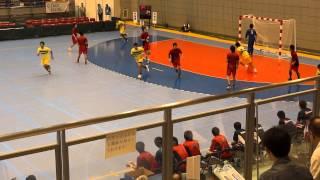 第68回 国体ハンドボール少年男子 北海道 vs 茨城県 (7)