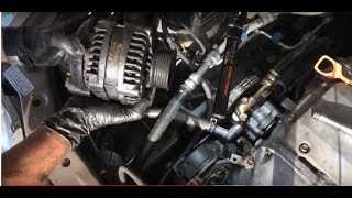 2004 Honda Odyssey Alternator Removal & Replacement without removing tensioner pulley