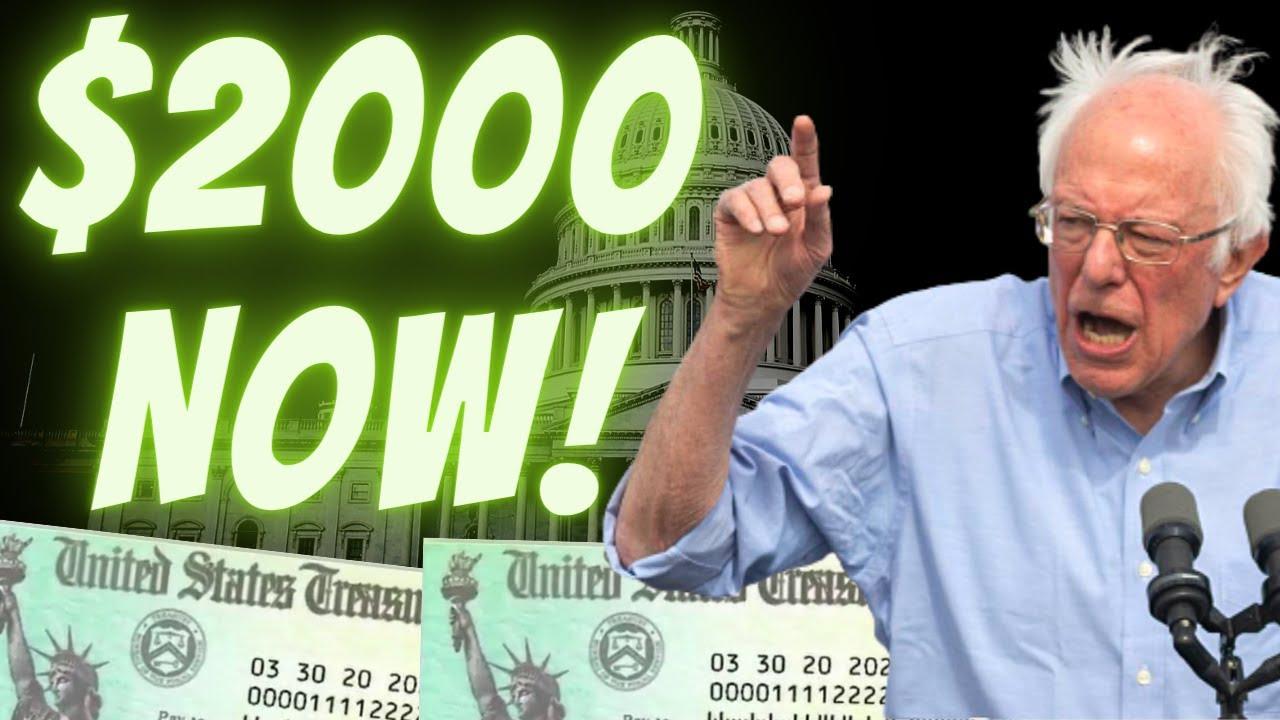 Download THIRD STIMULUS! $2000 Second Stimulus CHECK Update | SSI SSDI + Unemployment | Package News Jan 12