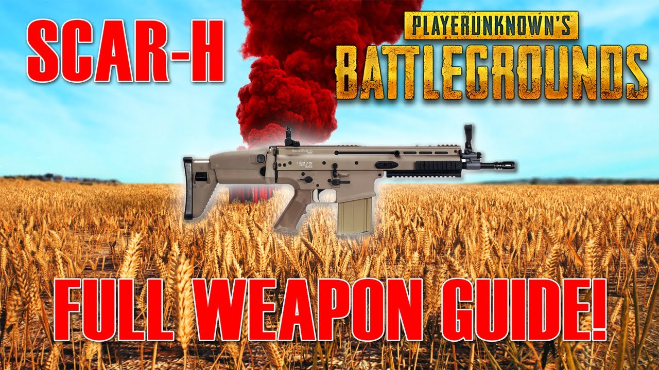 Playerunknown S Battlegrounds Maps Loot Maps Pictures: PUBG: Scar-H Full Weapon Guide! [PlayerUnknowns