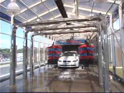 Find A Carwash >> AUTEC InBay Express carwash tunnel - YouTube