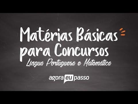 Видео Português e Matemática para Concurso Publico