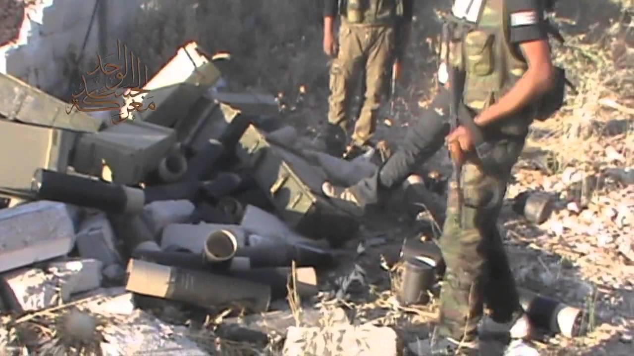 Iranian Mortar Rounds Produced After 2012 In Syria