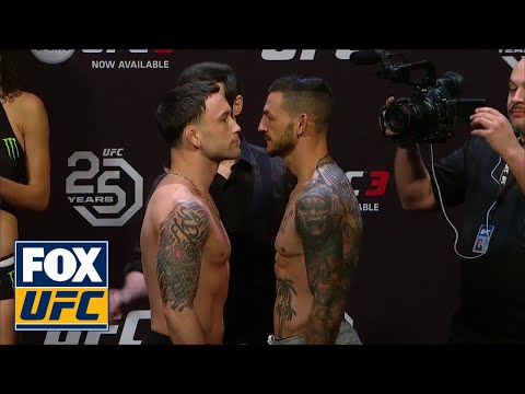 Cub Swanson vs Frankie Edgar face-off | WEIGH-IN | UFC FIGHT NIGHT