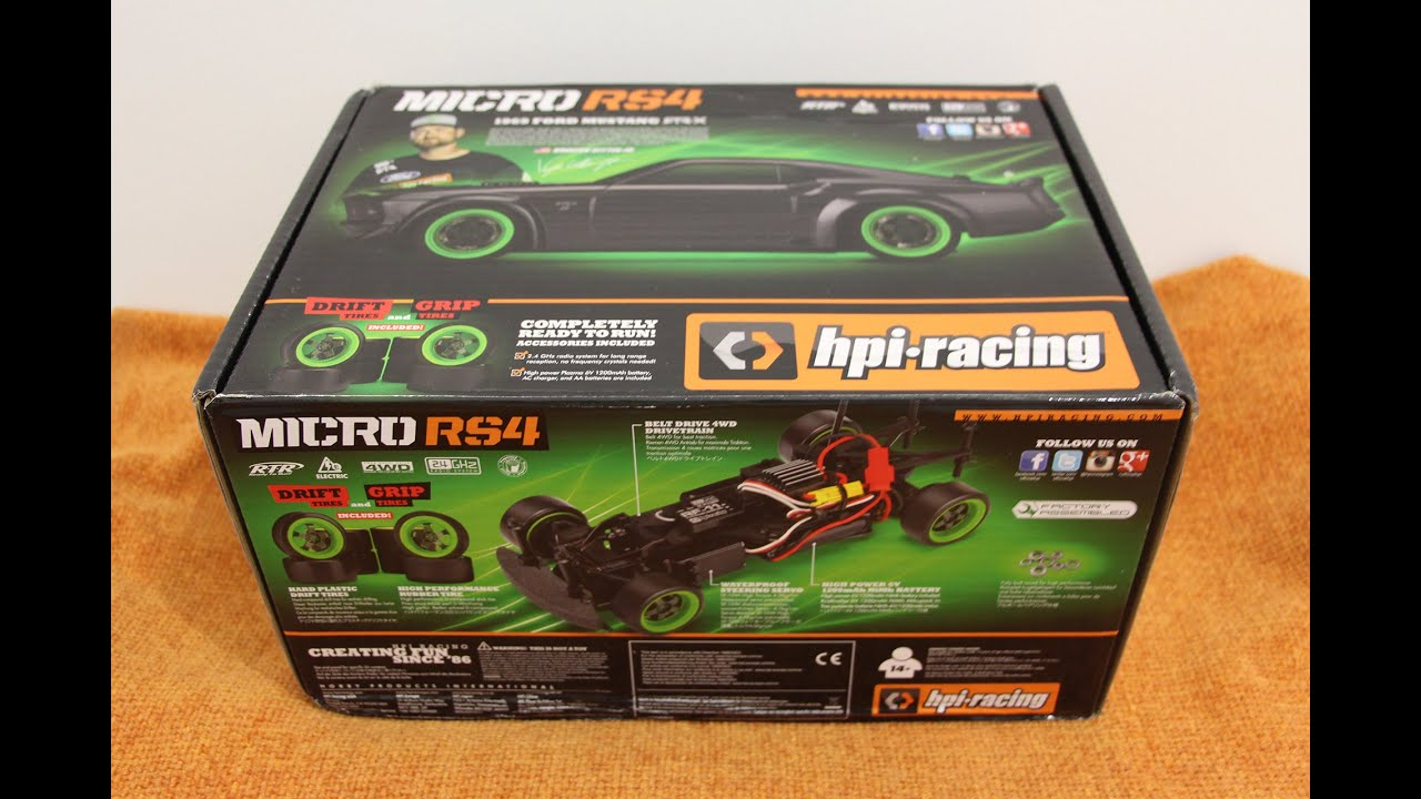Hpi Racing Micro Rc Turing Drift Car Unboxing Youtube