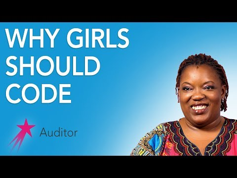 Auditor: Why Girls Should Consider a Career in Coding - Desiree Gueassemon Career Girls Role M